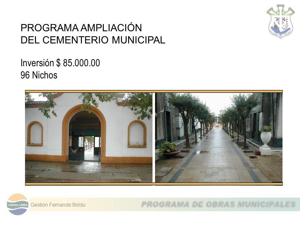 DEL CEMENTERIO MUNICIPAL