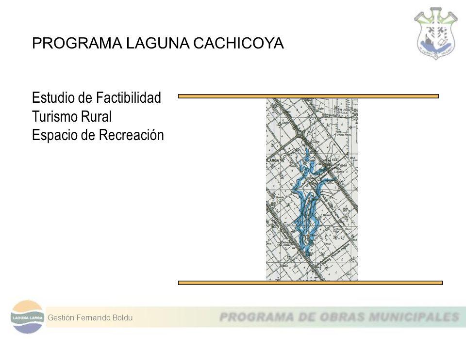 PROGRAMA LAGUNA CACHICOYA