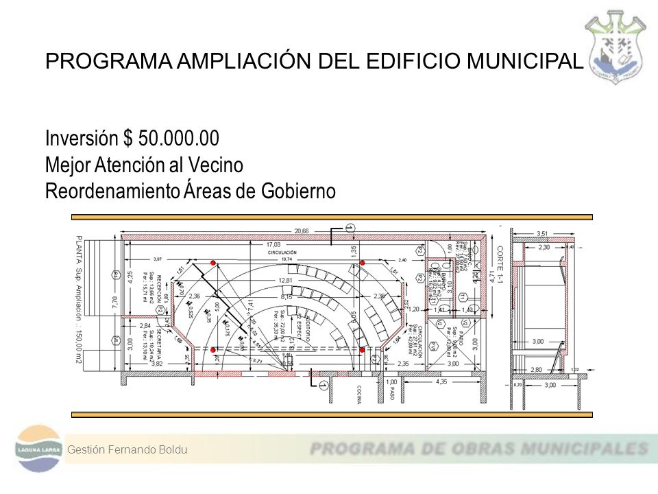 PROGRAMA AMPLIACIÓN DEL EDIFICIO MUNICIPAL