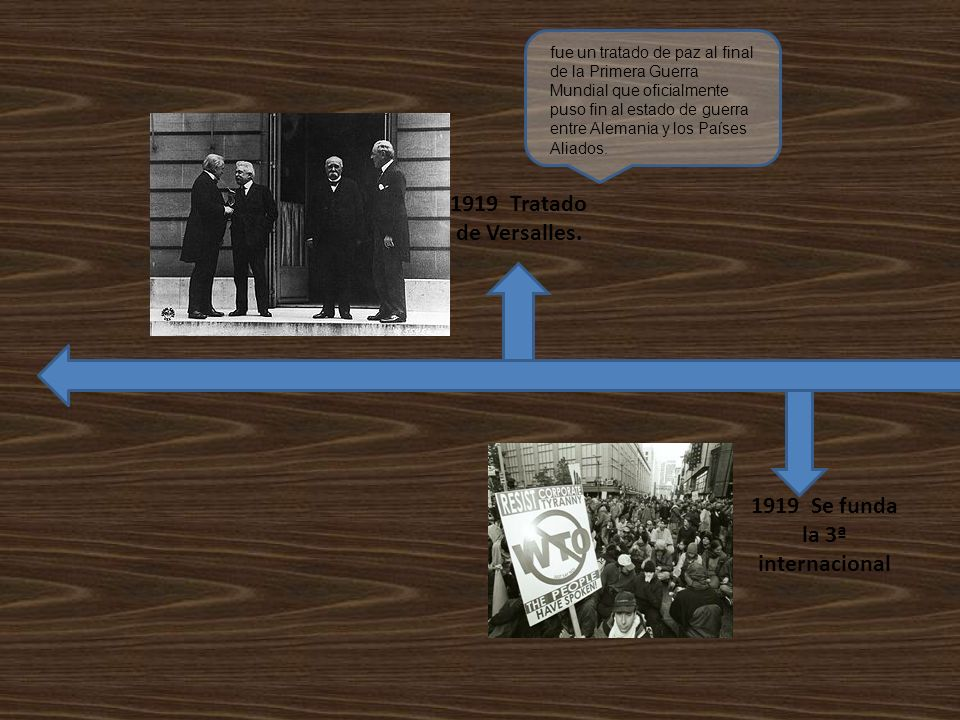 1919 Se funda la 3ª internacional