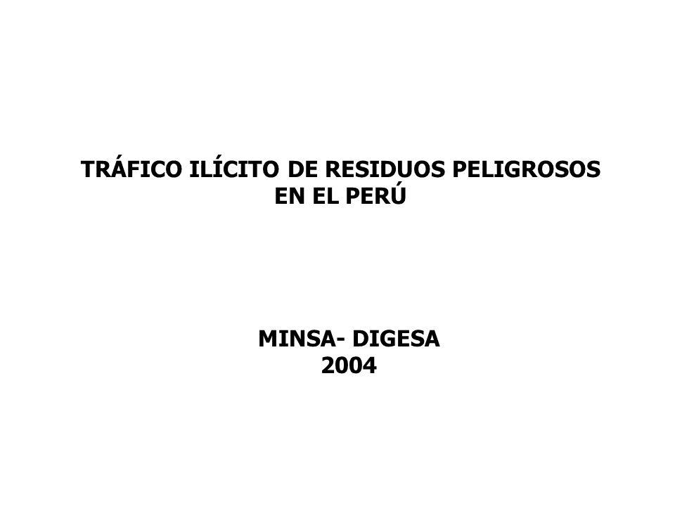 TRÁFICO ILÍCITO DE RESIDUOS PELIGROSOS