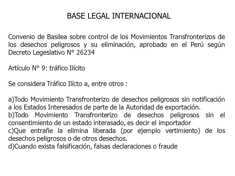 BASE LEGAL INTERNACIONAL