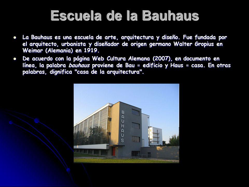 Walter gropius y la bauhaus ppt descargar for Arte arquitectura y diseno definicion