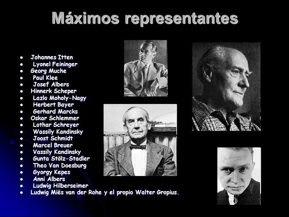 Máximos representantes