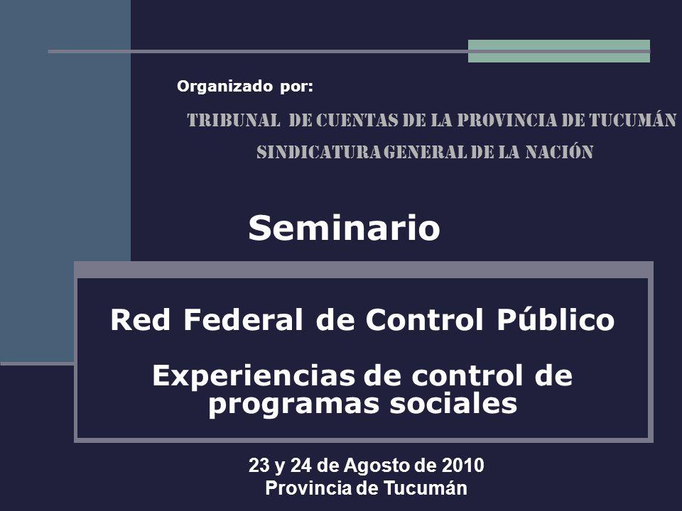 Seminario Red Federal de Control Público