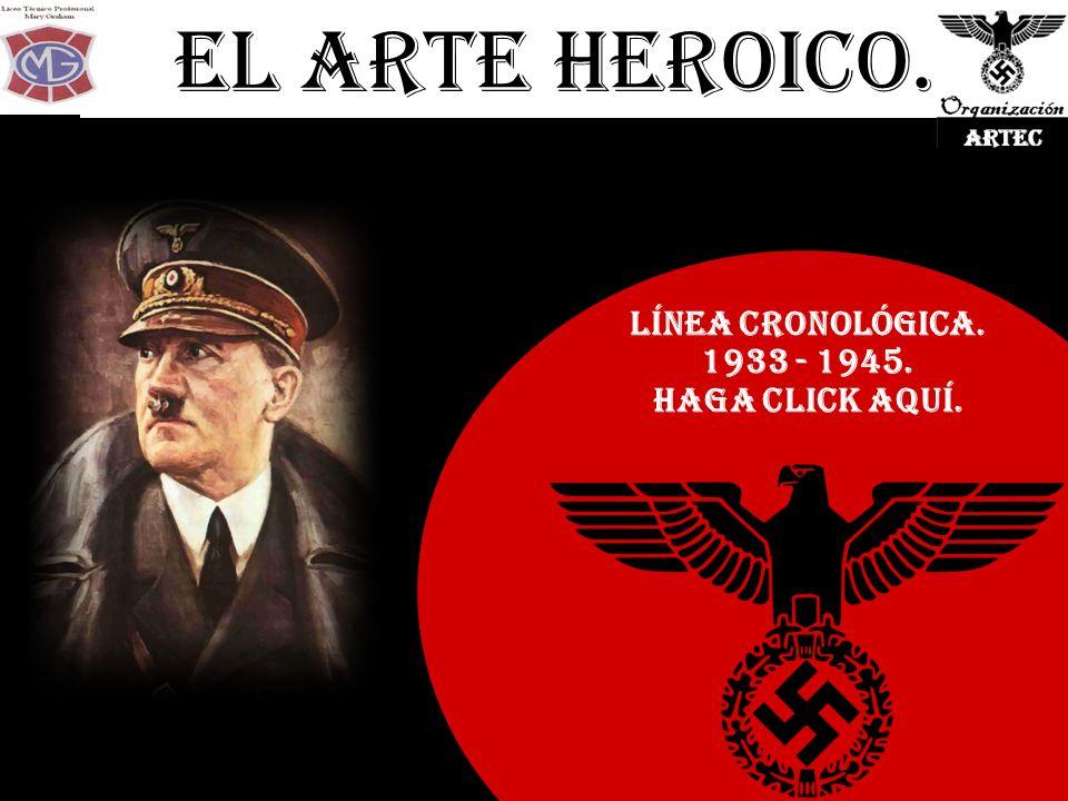 El Arte Heroico. Línea Cronológica. 1933 - 1945. Haga click Aquí.