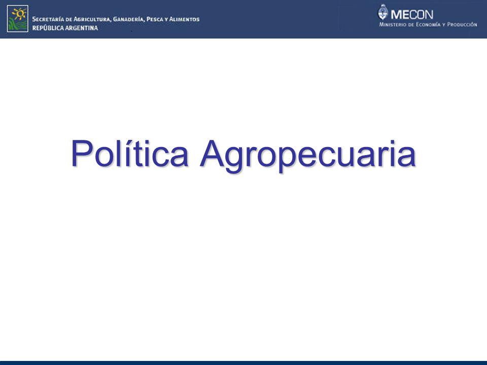 Política Agropecuaria