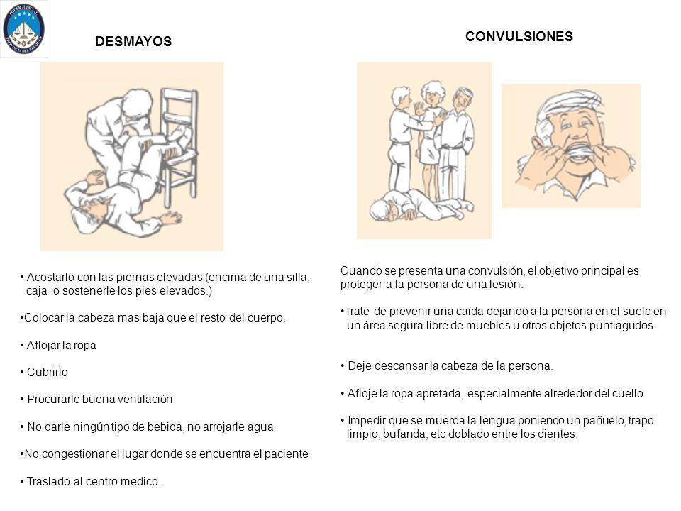 CONVULSIONES DESMAYOS