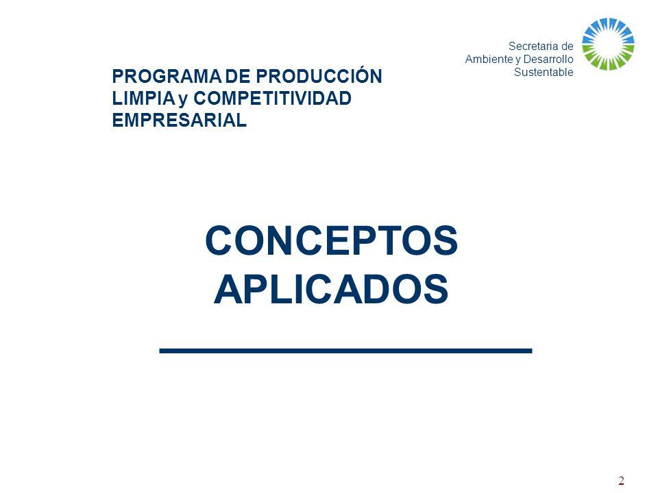PROGRAMA DE PRODUCCIÓN LIMPIA y COMPETITIVIDAD EMPRESARIAL