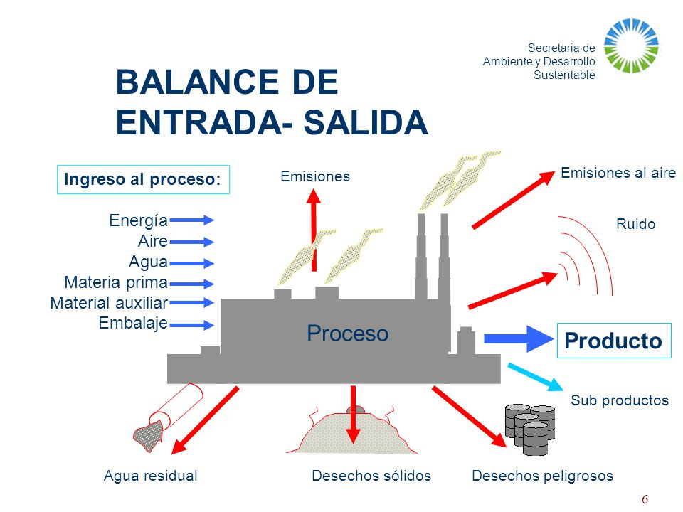 BALANCE DE ENTRADA- SALIDA