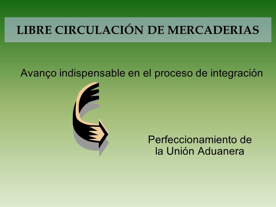 LIBRE CIRCULACIÓN DE MERCADERIAS