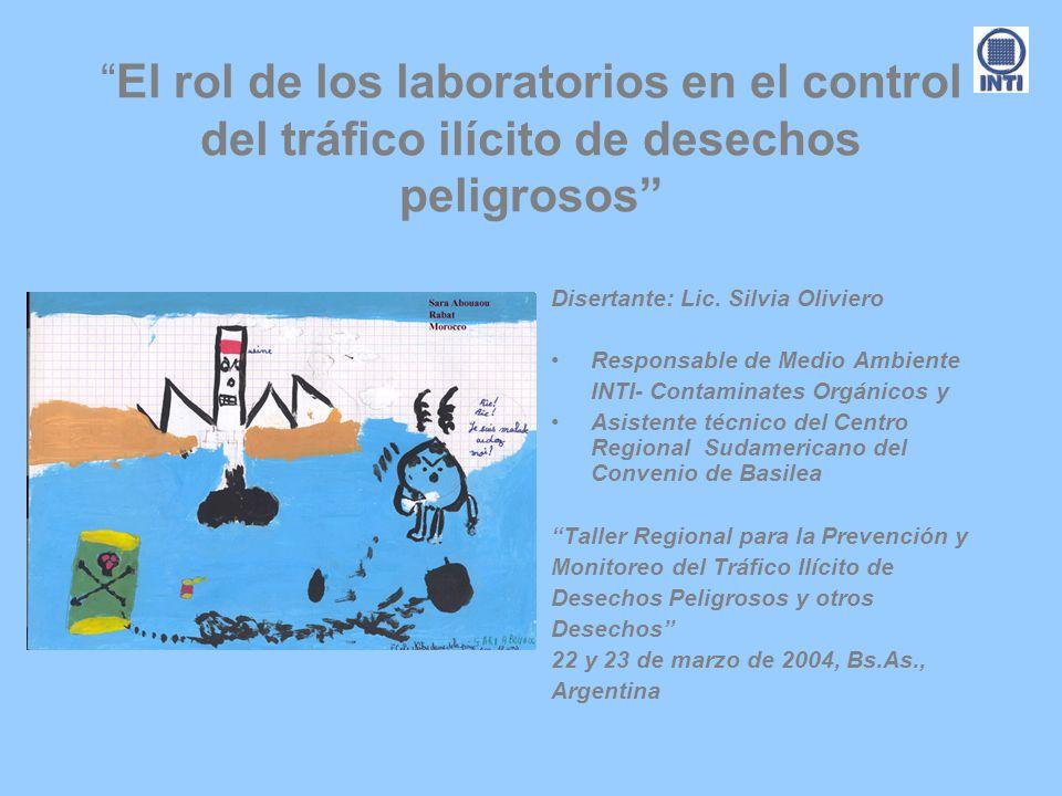 El rol de los laboratorios en el control del tráfico ilícito de desechos peligrosos