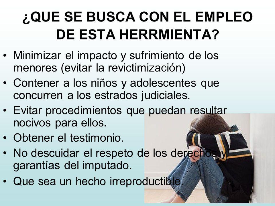 ¿QUE SE BUSCA CON EL EMPLEO DE ESTA HERRMIENTA