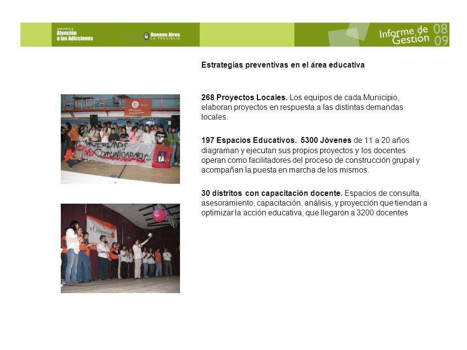 Estrategias preventivas en el área educativa