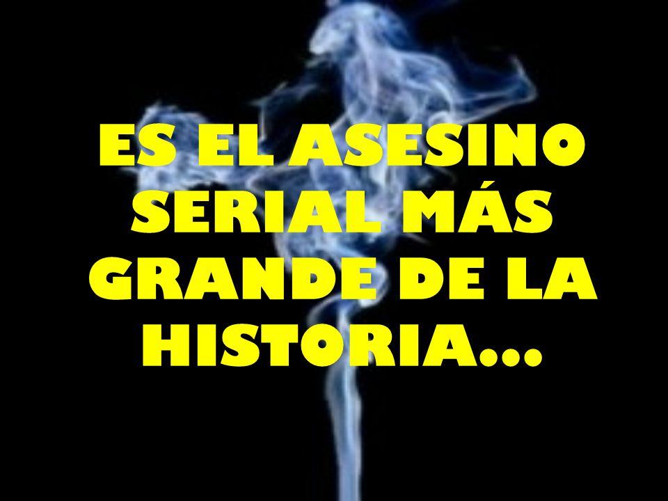 ES EL ASESINO SERIAL MÁS GRANDE DE LA HISTORIA...