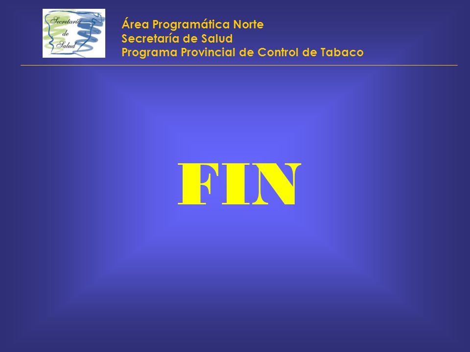FIN Área Programática Norte Secretaría de Salud