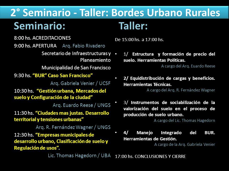 Seminario: Taller: