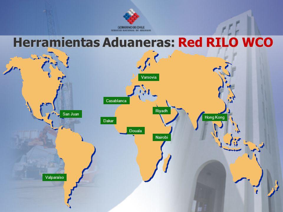 Herramientas Aduaneras: Red RILO WCO