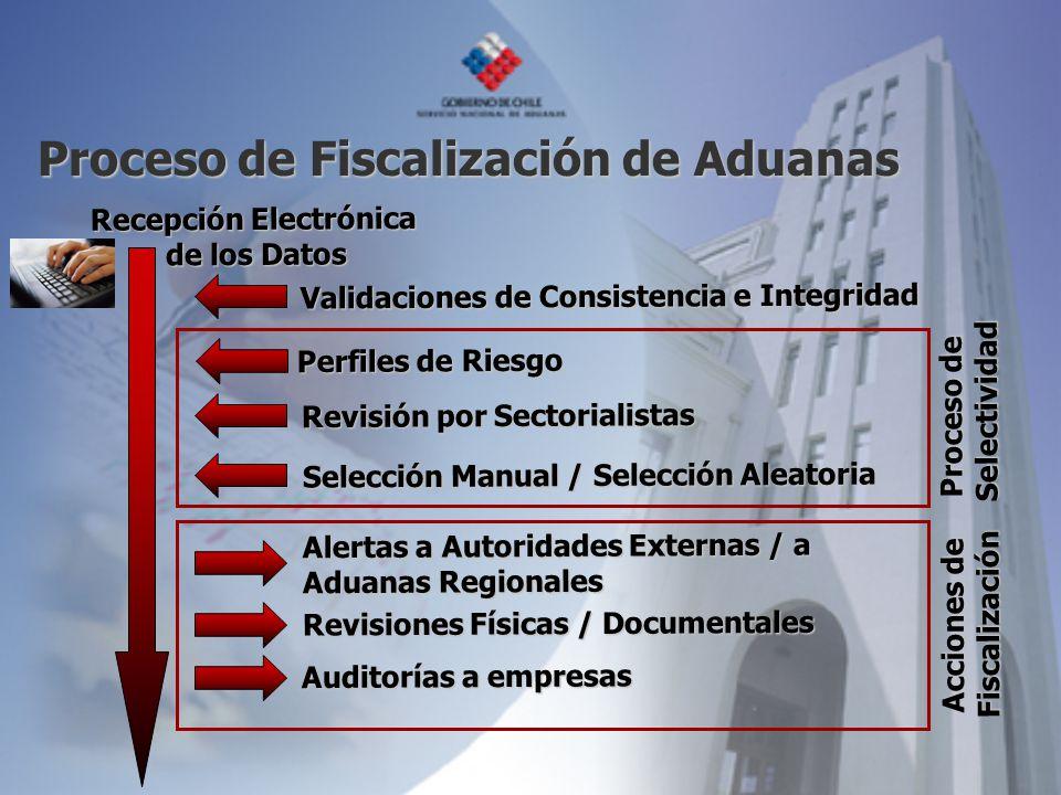 Proceso de Fiscalización de Aduanas