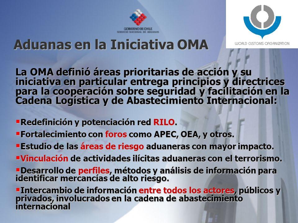 Aduanas en la Iniciativa OMA