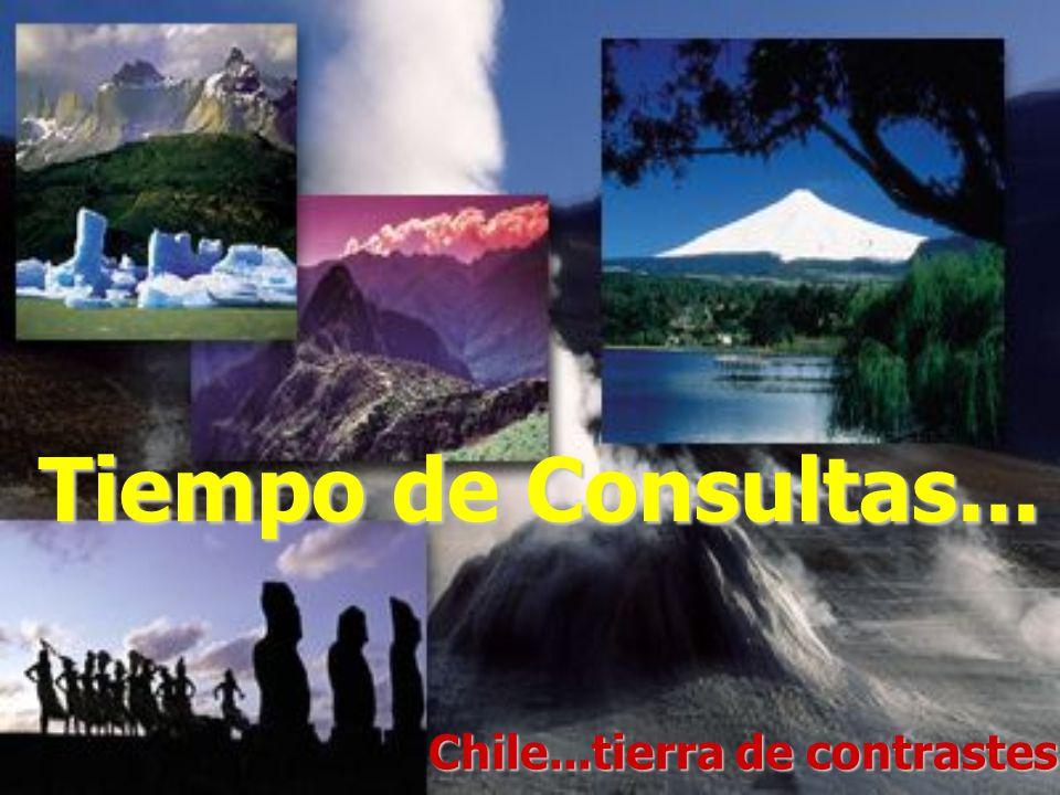 Chile...tierra de contrastes