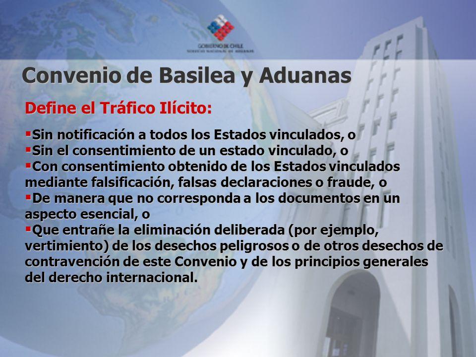 Convenio de Basilea y Aduanas