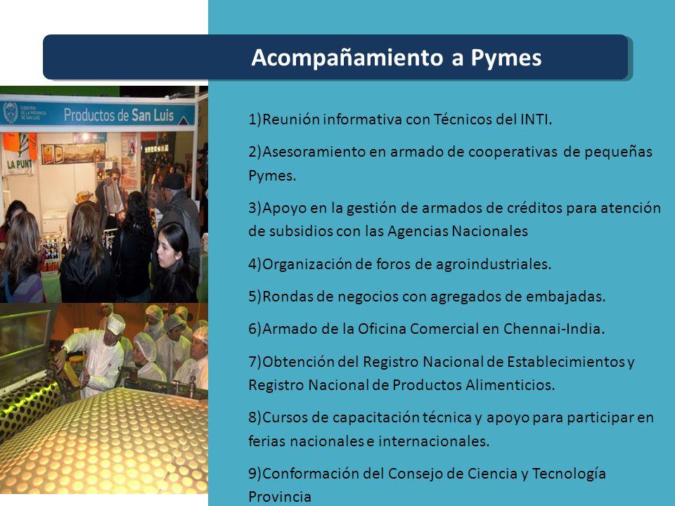 Acompañamiento a Pymes