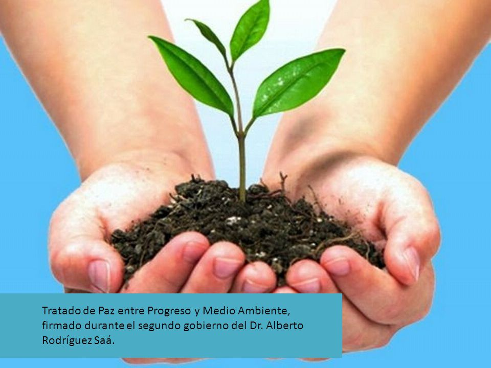 Tratado de Paz entre Progreso y Medio Ambiente, firmado durante el segundo gobierno del Dr.