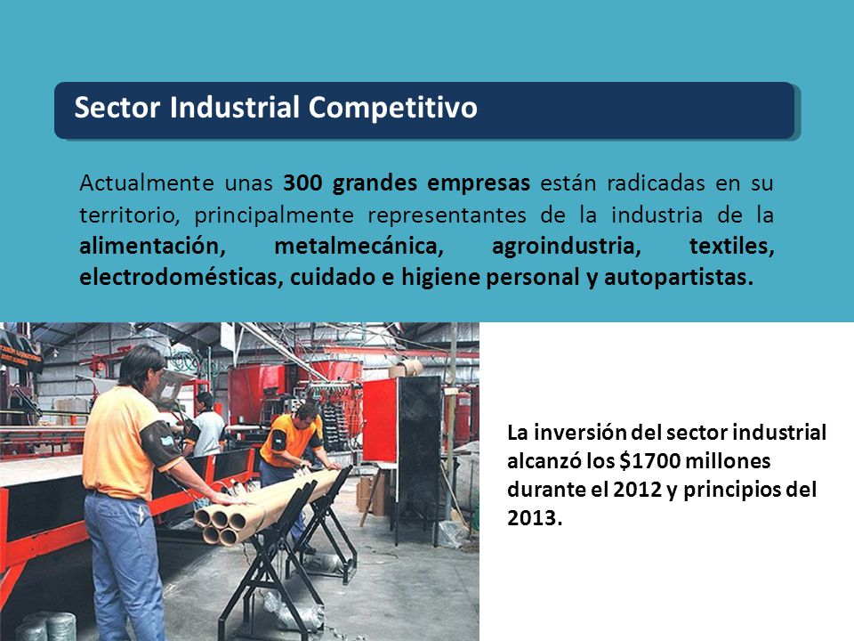 Sector Industrial Competitivo