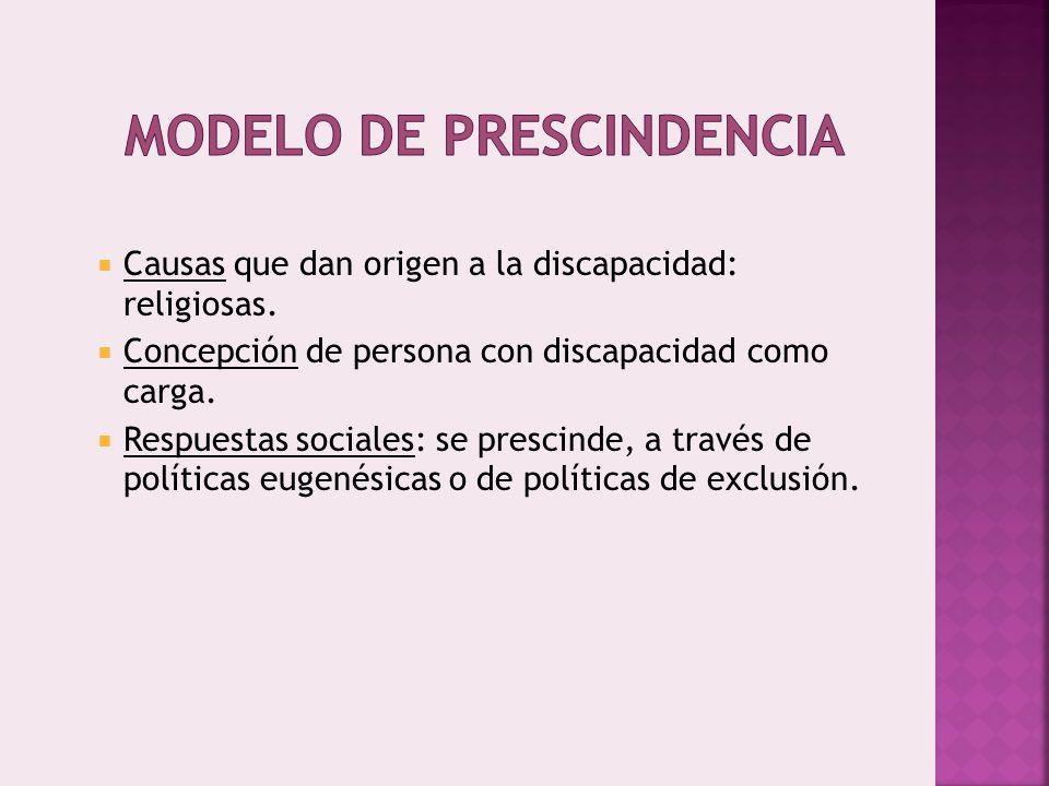Modelo de Prescindencia