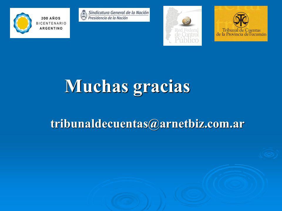 Muchas gracias tribunaldecuentas@arnetbiz.com.ar