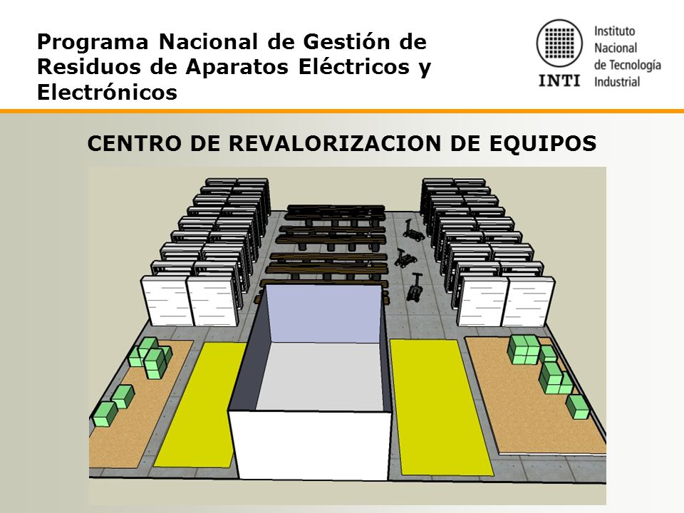CENTRO DE REVALORIZACION DE EQUIPOS