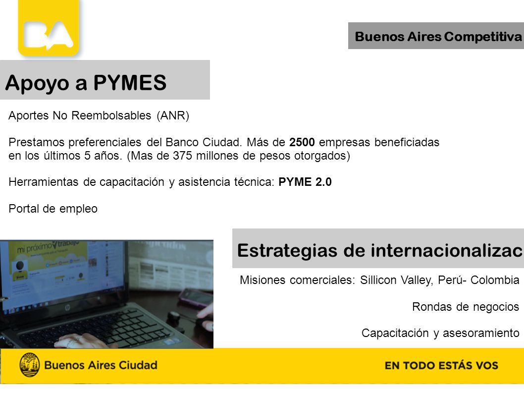 Apoyo a PYMES Estrategias de internacionalización