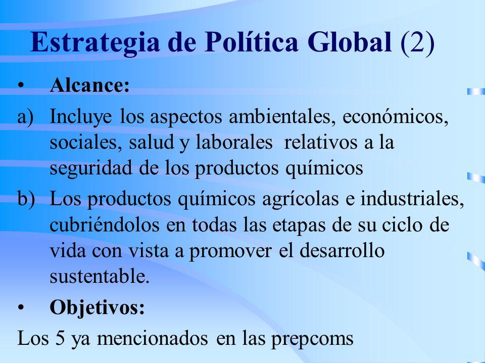Estrategia de Política Global (2)