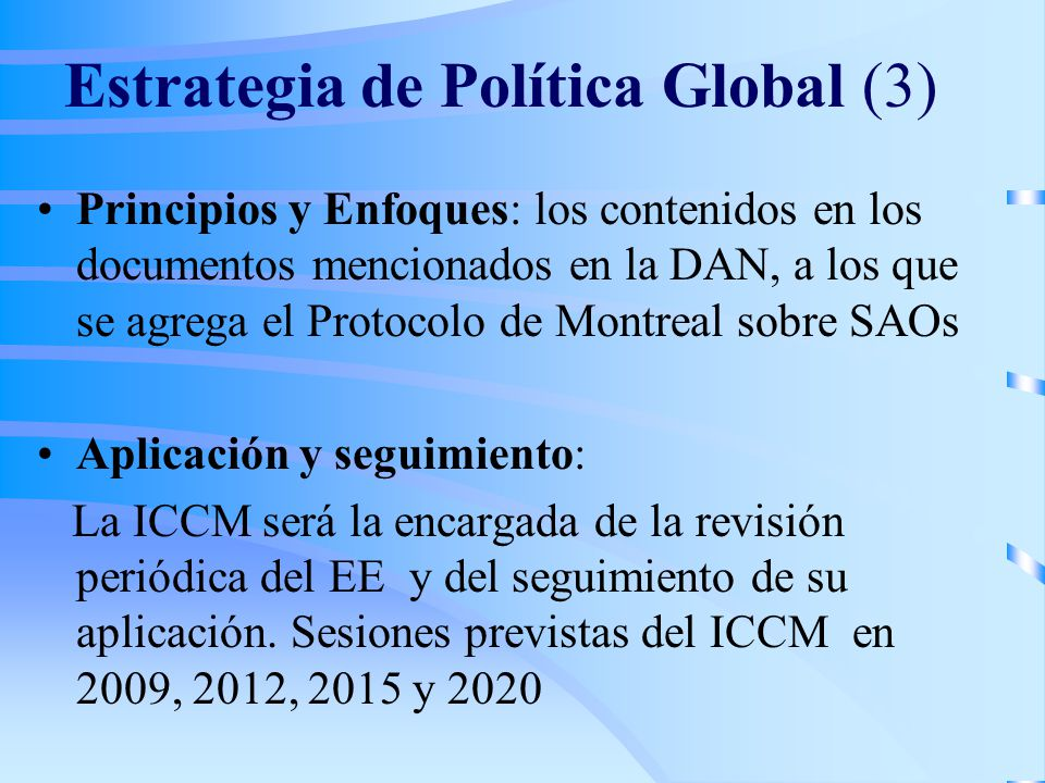 Estrategia de Política Global (3)