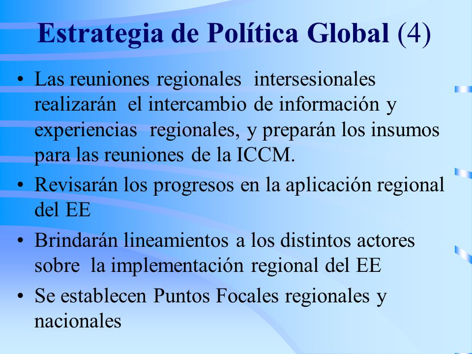 Estrategia de Política Global (4)