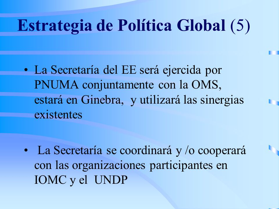 Estrategia de Política Global (5)