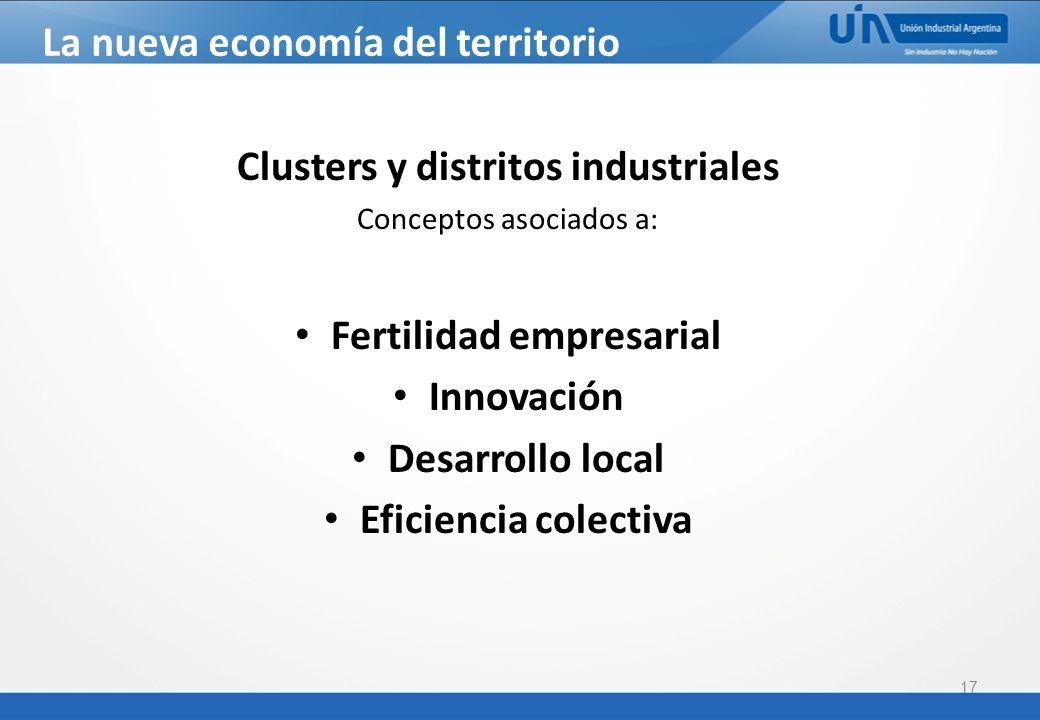 La nueva economía del territorio