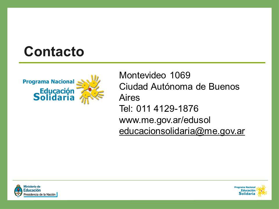Contacto Montevideo 1069 Ciudad Autónoma de Buenos Aires