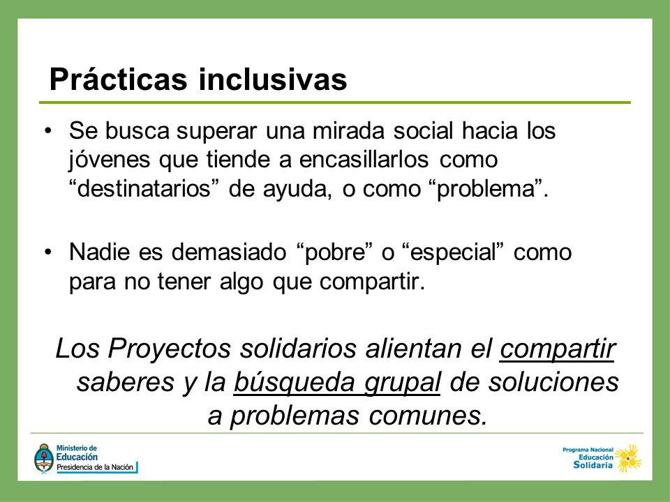 Prácticas inclusivas