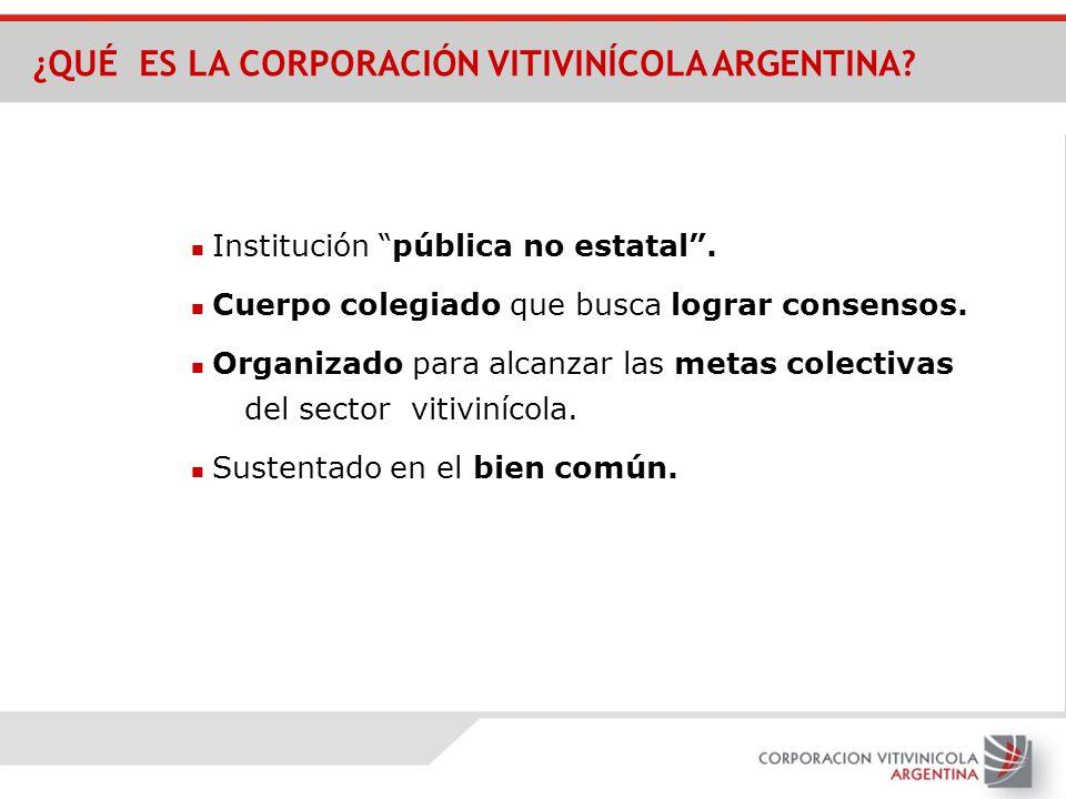 ¿QUÉ ES LA CORPORACIÓN VITIVINÍCOLA ARGENTINA