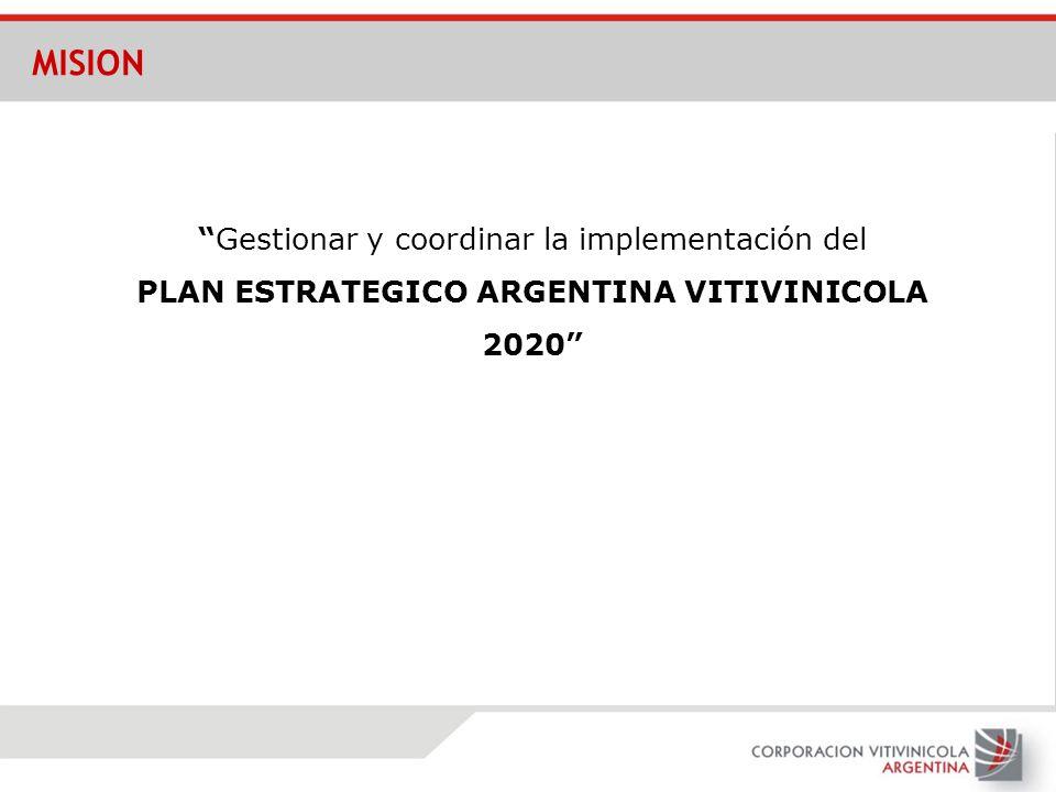 PLAN ESTRATEGICO ARGENTINA VITIVINICOLA 2020
