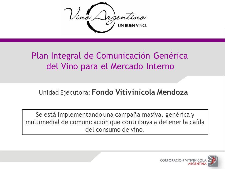 Plan Integral de Comunicación Genérica del Vino para el Mercado Interno