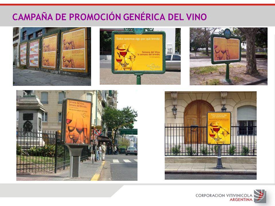 CAMPAÑA DE PROMOCIÓN GENÉRICA DEL VINO