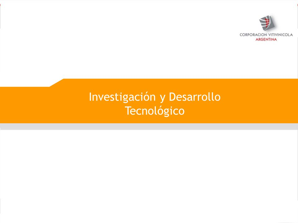 Investigación y Desarrollo Tecnológico
