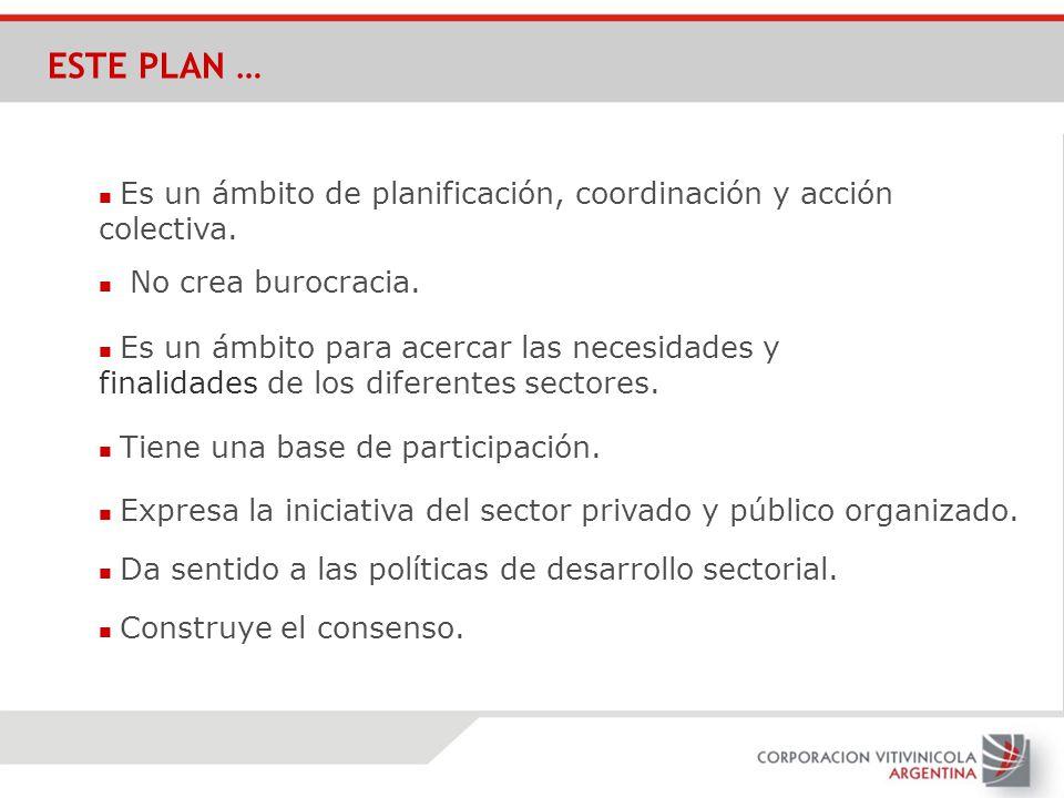 ESTE PLAN … n Es un ámbito de planificación, coordinación y acción colectiva. n No crea burocracia.