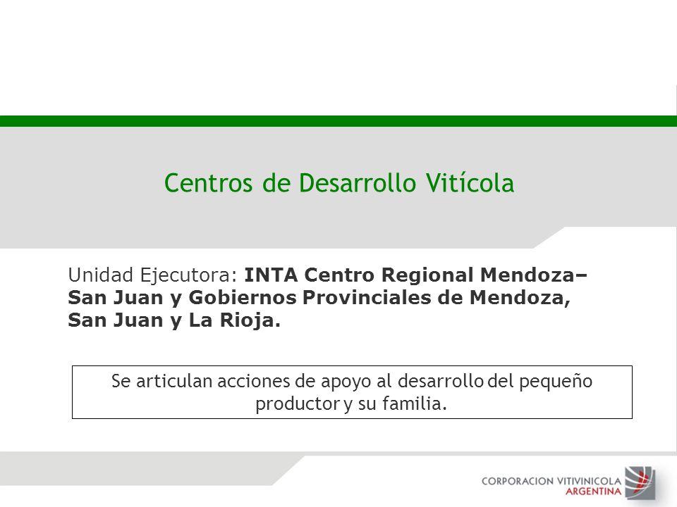 Centros de Desarrollo Vitícola