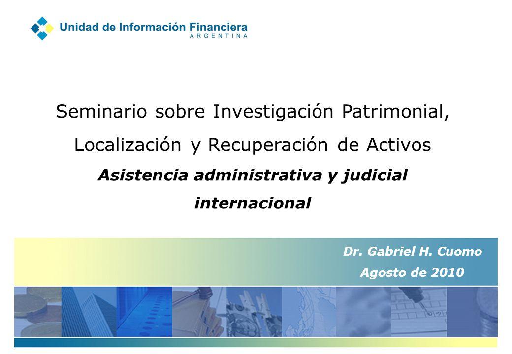 Asistencia administrativa y judicial internacional