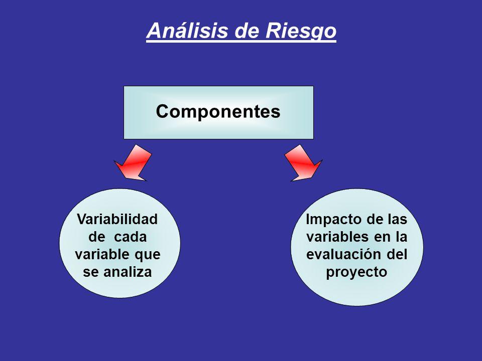 Análisis de Riesgo Componentes