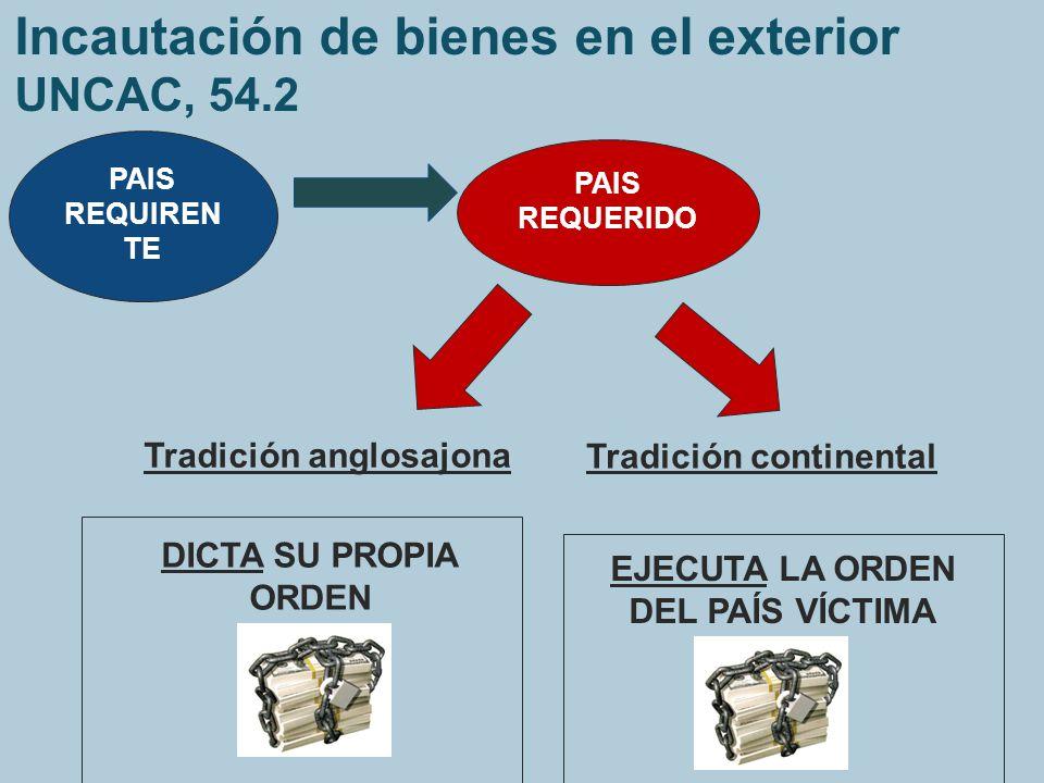Incautación de bienes en el exterior UNCAC, 54.2
